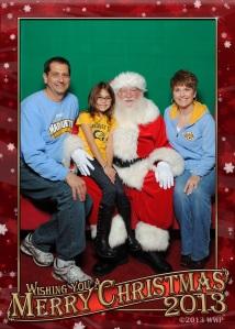 Christmas photo 2013