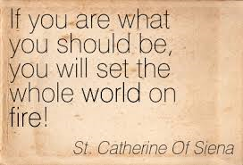 Saint Catherine quote
