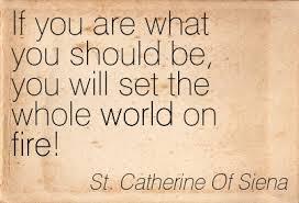 Saint Catherine quote