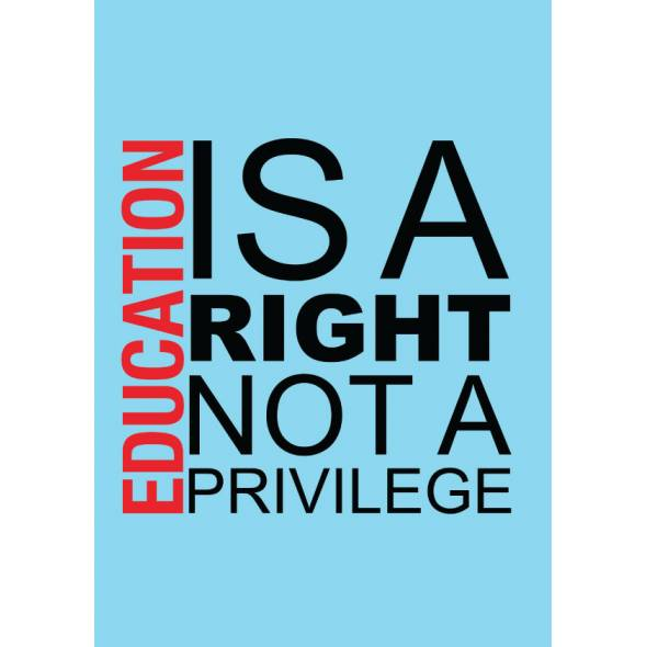 Education is a privilege essay