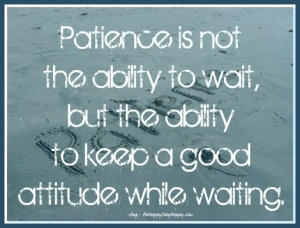 Image result for Virtue of patience