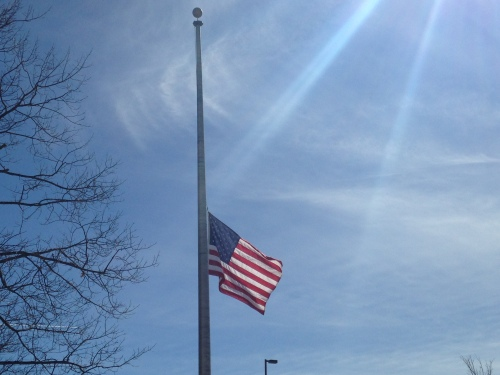 US_flag_at_half_staff_