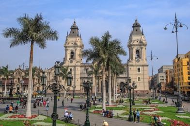 Lima, Peru…the Plaza de Armas de Lima by day